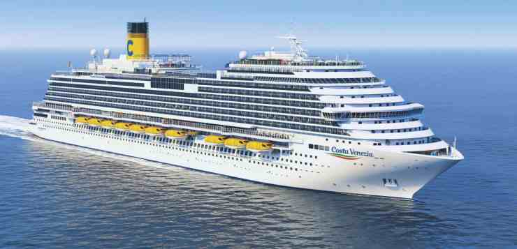 Costa Cruises Celebrates Float Out of Costa Venezia