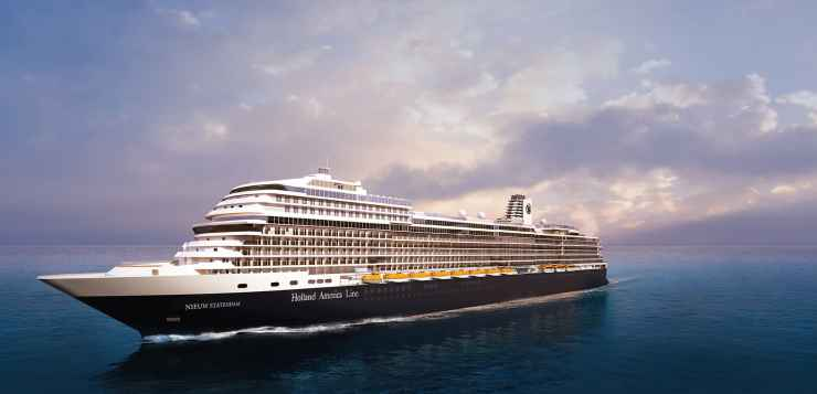 Holland America Line and O, The Oprah Magazine Set Sail on a Three-Day Girls' Getaway Cruise Jan. 30, 2019, with Oprah Winfrey Aboard Nieuw Statendam
