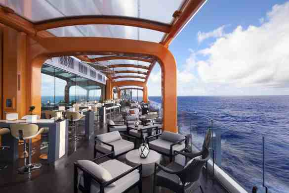 Magic Carpet - Deck 5 Midship Starboard Celebrity EDGE - Celebrity Cruises