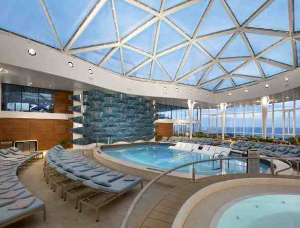 Solarium - Deck 14 Midship  Celebrity EDGE - Celebrity Cruises