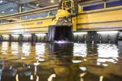 Carnival Cruise Line XL Vessel Steel Cutting