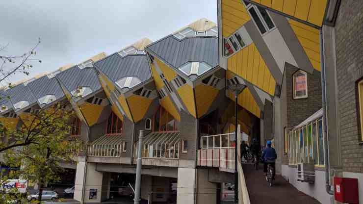 The Cube House in Rotterdam