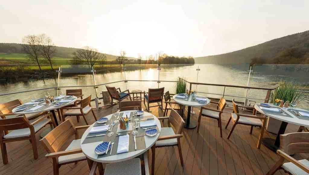 Viking River Cruises Longship Aquavit Terrace