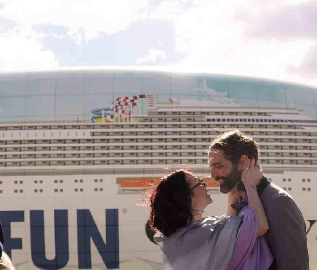 Carnival Cruise Line's #ChooseFun Airship Hosts First-Ever Wedding in Las Vegas