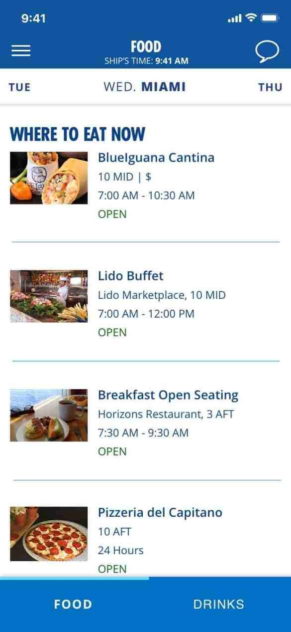 Carnival's Hub App Expands With Pre-Cruise Check-In and Much More | 7