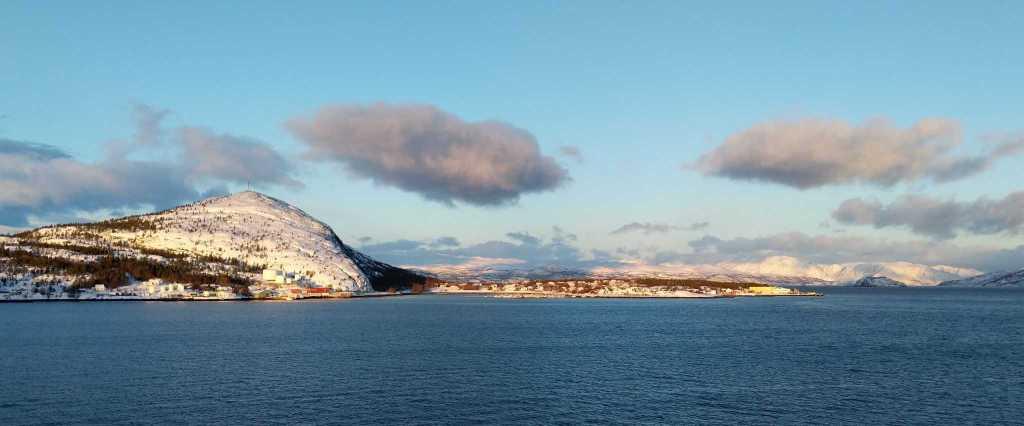 Coastal cruising in Norway