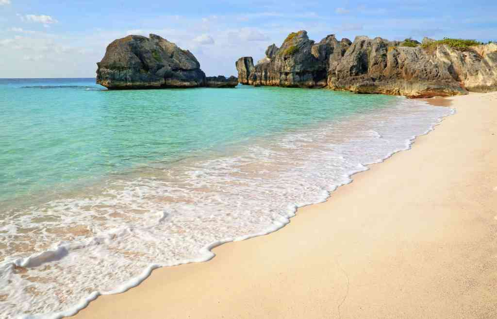 Warwick Long Bay in Bermuda
