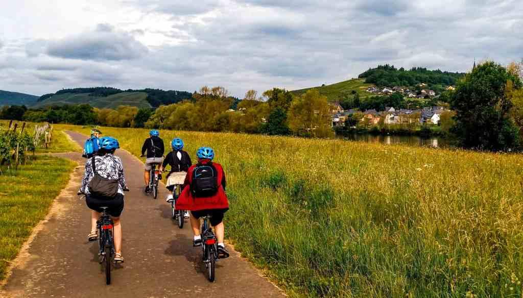 A long bike ride in Bernkastel with Emerald Waterways