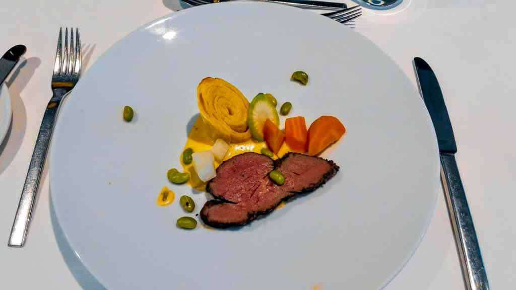 Cuisine aboard Emerald Waterways