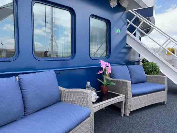 MV Victory II - Category OS (Owners Suite) Cabin - Semi-Private Terrace