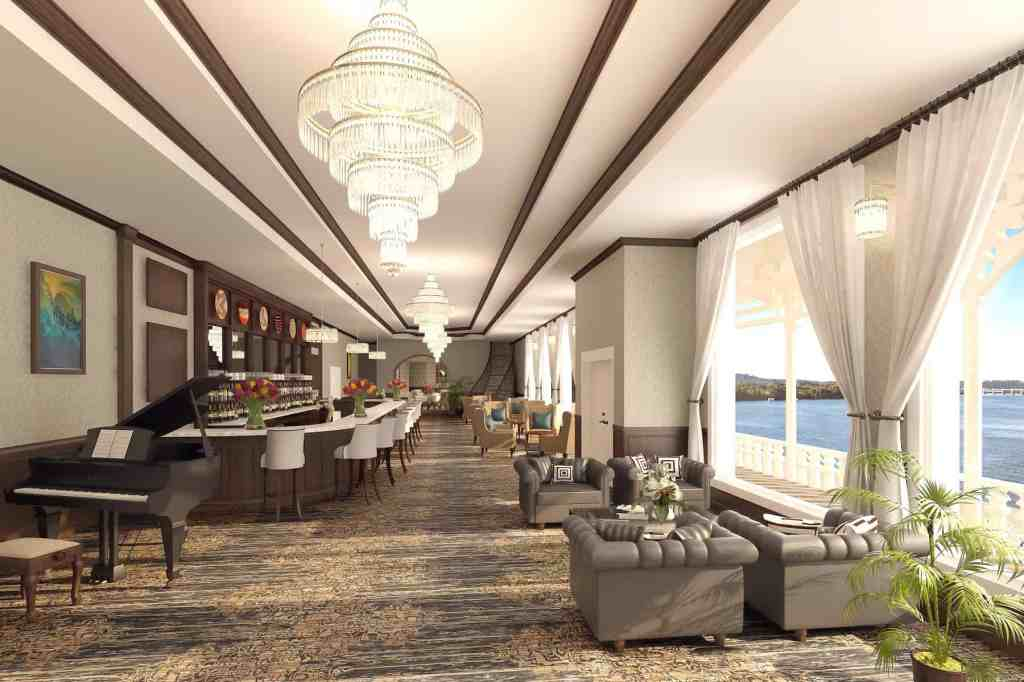 Rendering of the American Countess' Grand Lobby
