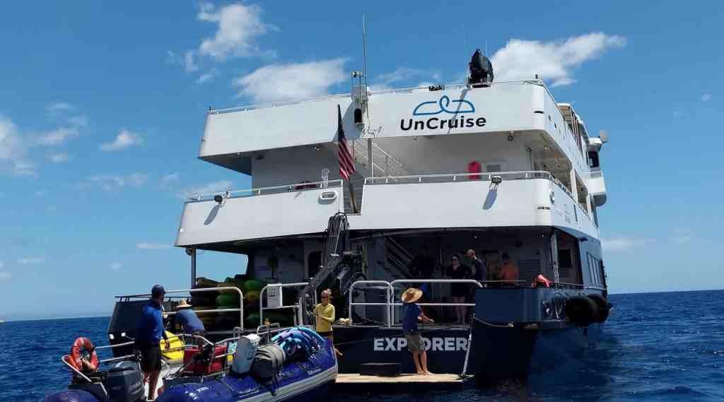 UnCruise Adventures Safari Explorer