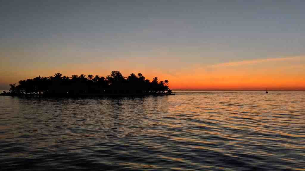 The small cayes of Belize