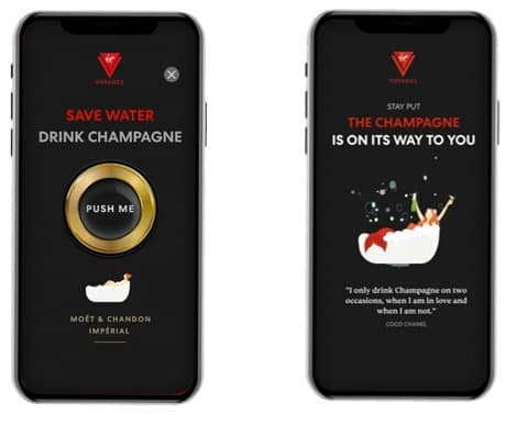 "Virgin Voyages Unveils ""Shake For Champagne"" Delivery Service"