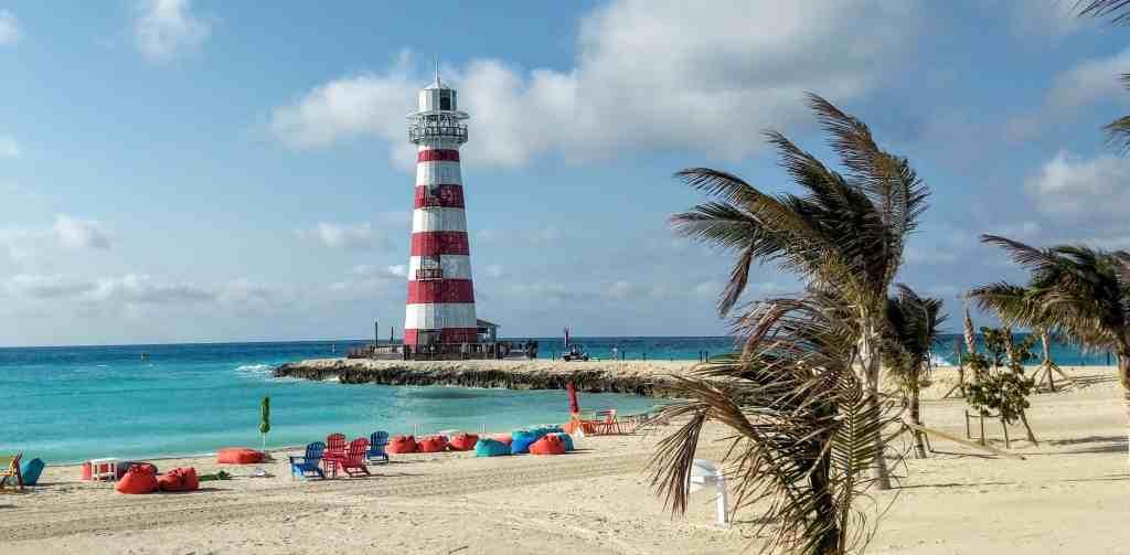 Ocean Cay MSC Marine Reserve, Lighthouse.