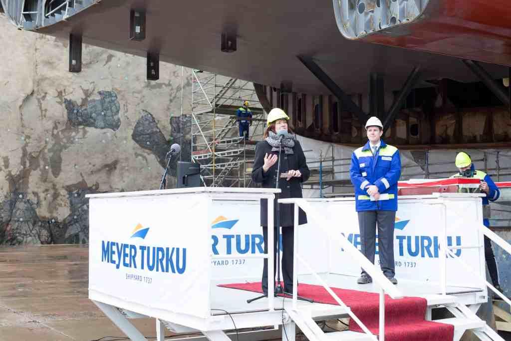 Minna Arve, Mayor of Turku.