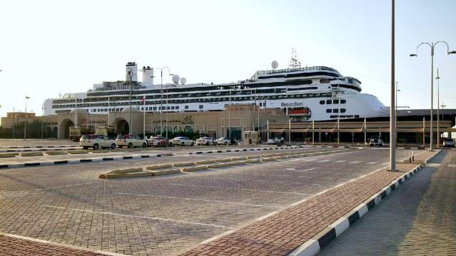 rotterdam dubai cruise terminal
