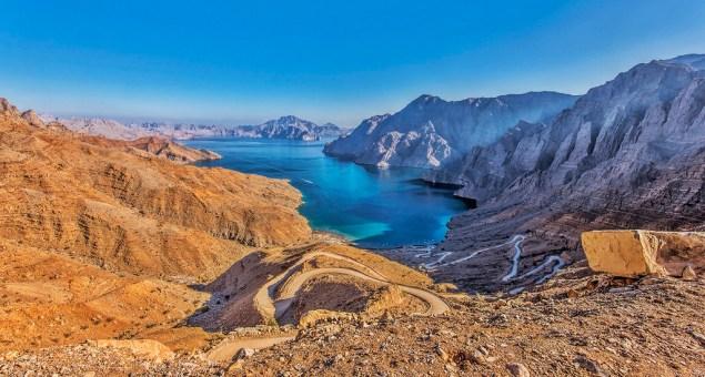 khasab in the musandum peninsula of oman