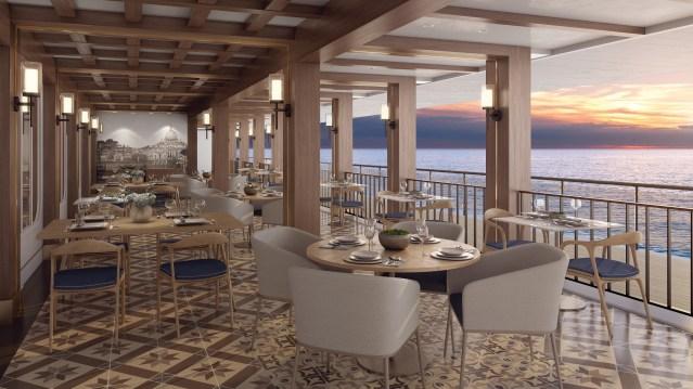 norwegian bliss la cucina waterfront