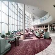 iona's lobby coffee bar off the grand atrium