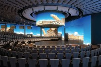 rotterdam will feature the world stage, like nieuw statendam and koningsdam, where a new production called step one will be performed