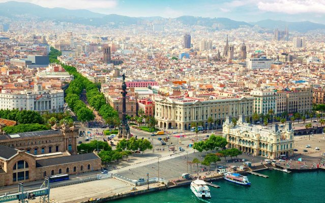 barcelona spain waterfront spdeal1016