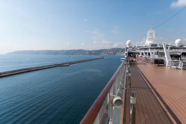 msc cruises view