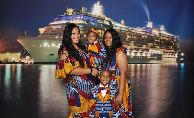 friends of festival at sea african attire night