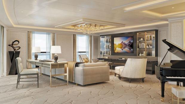 seven seas splendor suite