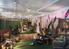 the teens' club will get a dedicated outdoor space