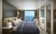 norwegian spirit's cabins, such as her balcony staterooms, will be totally overhauled