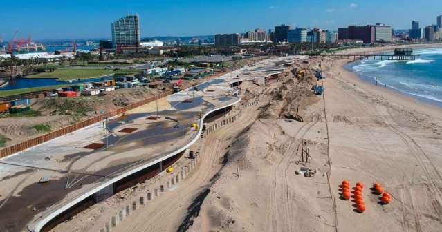 durban beachfront promenade project