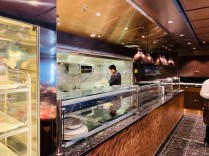 the galley at butcher's cut aboard msc bellissima