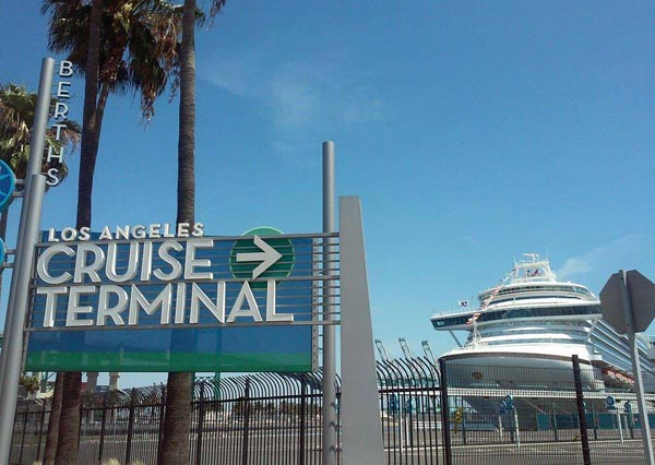los angeles san pedro cruise ship terminal