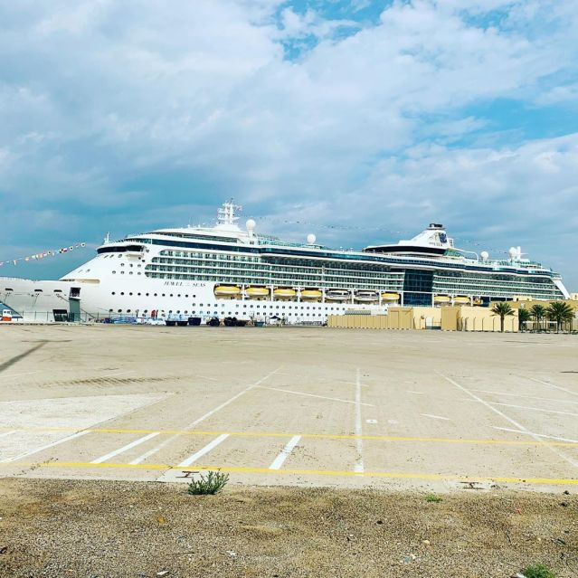 royal caribbean ship jewel of the seas in dubai