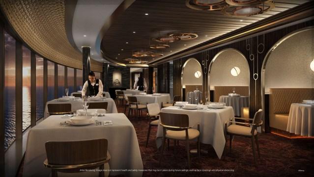 disney wish premiere dining palo steakhouse