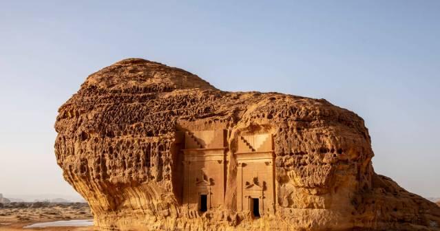 unesco world heritage site of alula saudi arabia