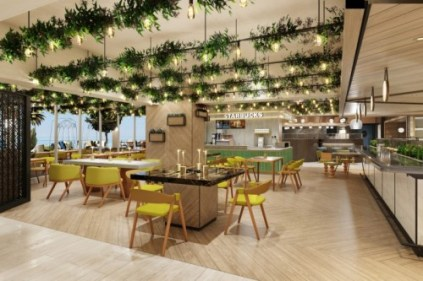 the indulge food hall will feature 11 separate dining experiences