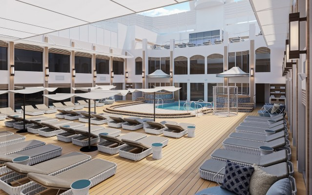 haven courtyard pool and sundeck