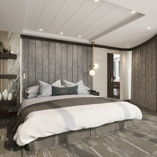 the 75 suites of the haven were also reimagined and upgraded