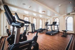 fitness centre aboard sea cloud spirit