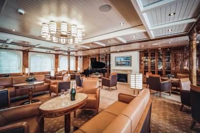main lounge aboard sea cloud spirit