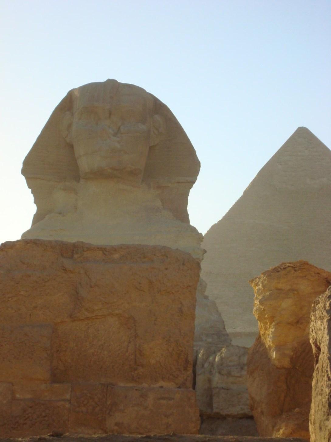 Die berühmteste und größte Sphinx