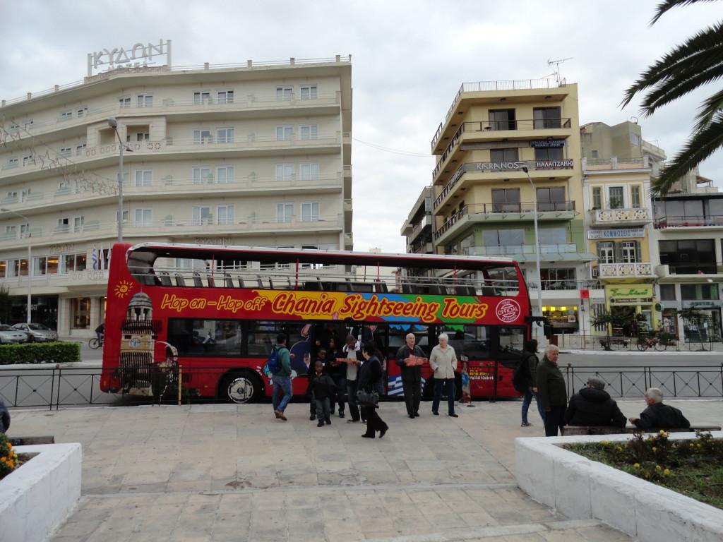 Kreta Bus tour Stadtrundfahrt