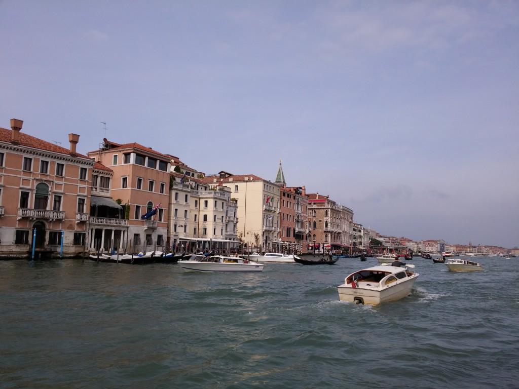 Blick auf die Promeande von Venedig