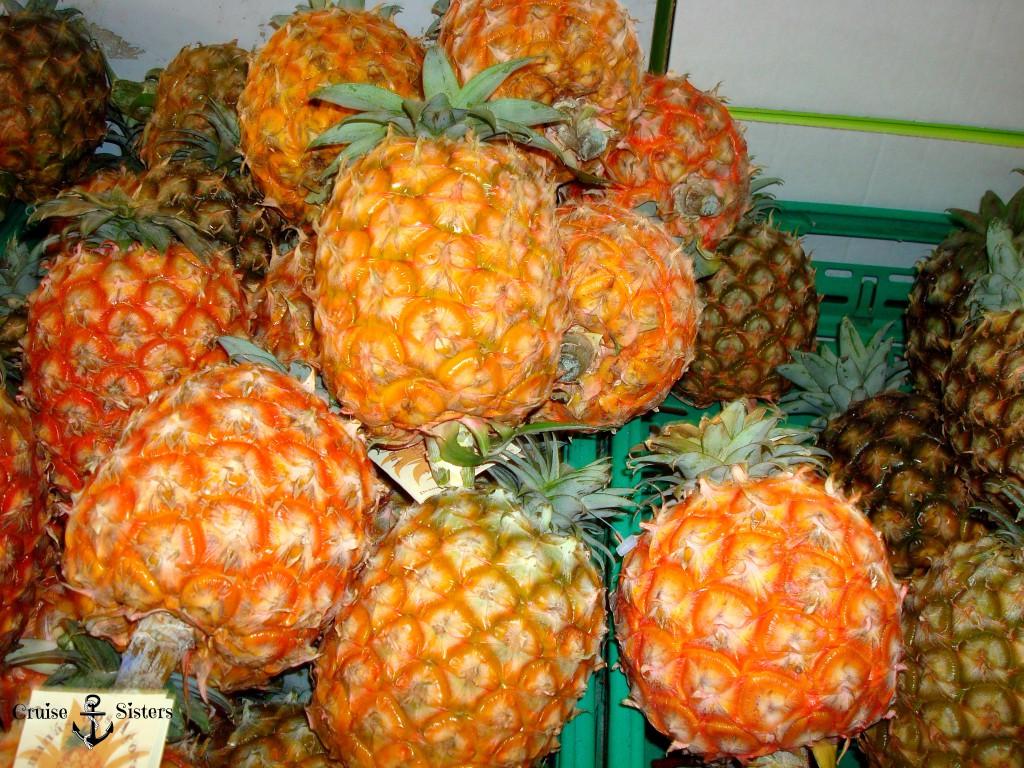 Ananas Markthalle Ponta Delgada