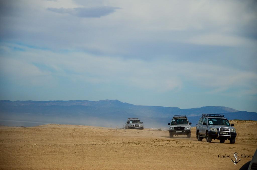 Landausflug mit dem Jeep in Agadir in Marokko mit dem Mein Schiff 4