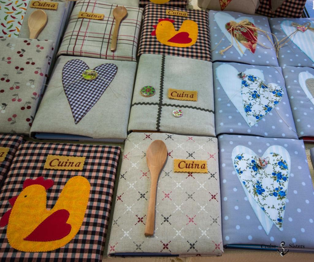 Kochbücher an Sant Jordi