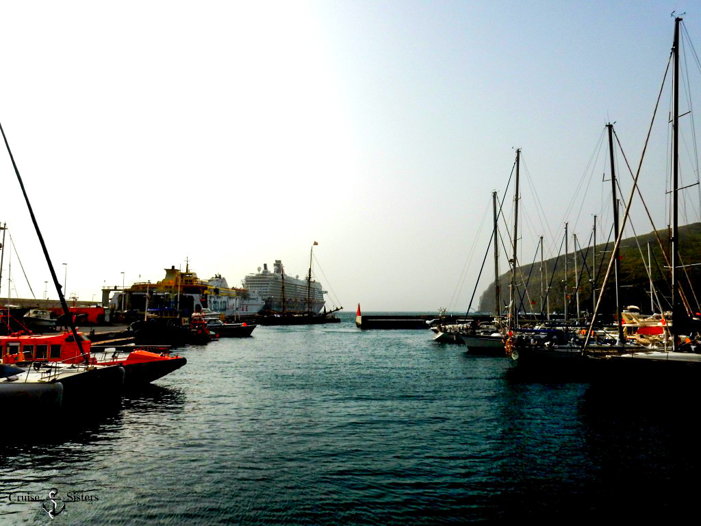 Der Hafen von San Sebastian auf La Gomera