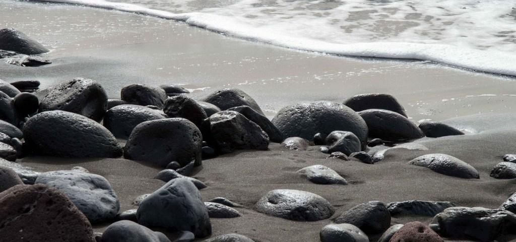 La Gomera am Strand von Valle Gran Rey